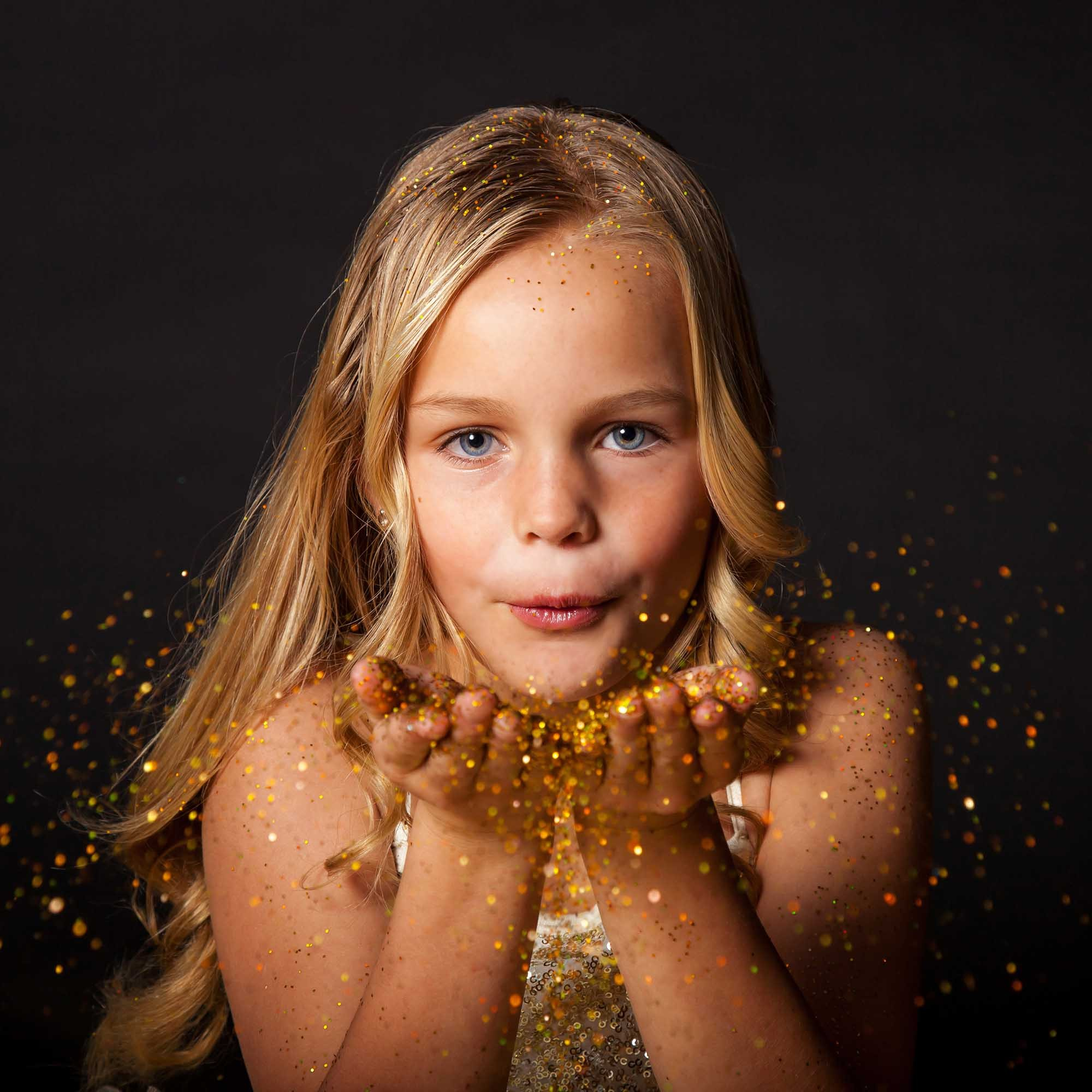 Glitter Session Fine Art Portrait 01 by Eric Pearce Photography