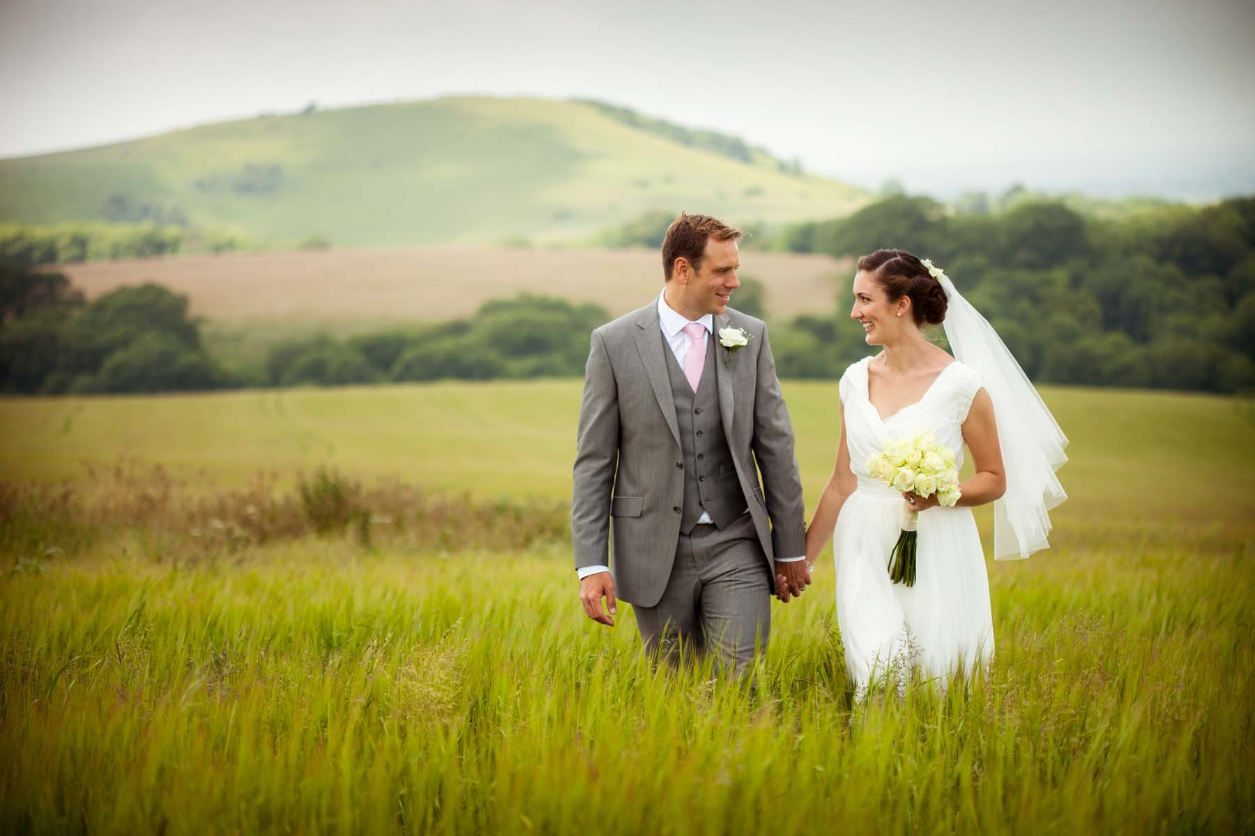 Sussex & Surrey Wedding Photographer - Bride & Groom (1)