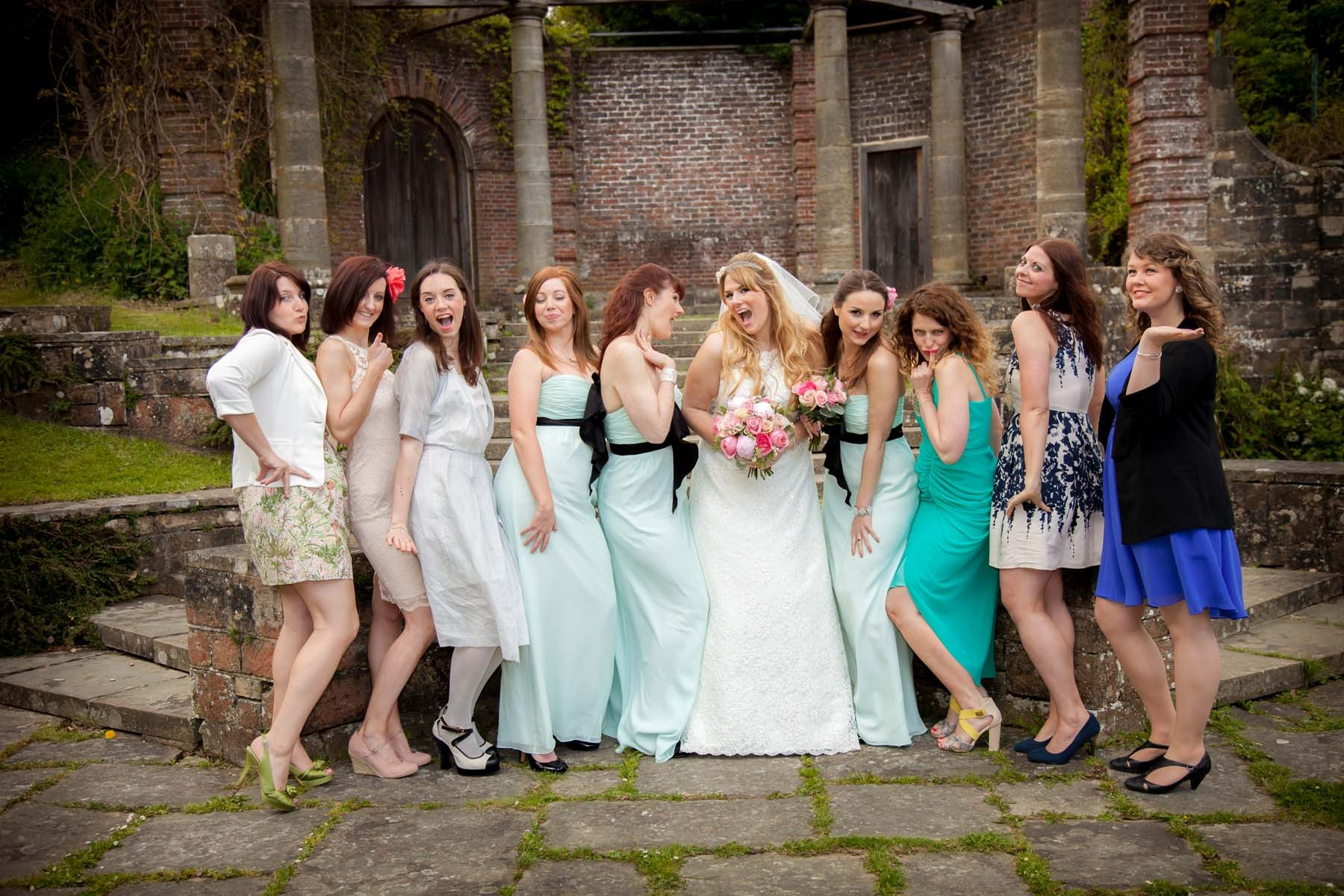 Sussex & Surrey Wedding Photographer - Guests & Groups (9)