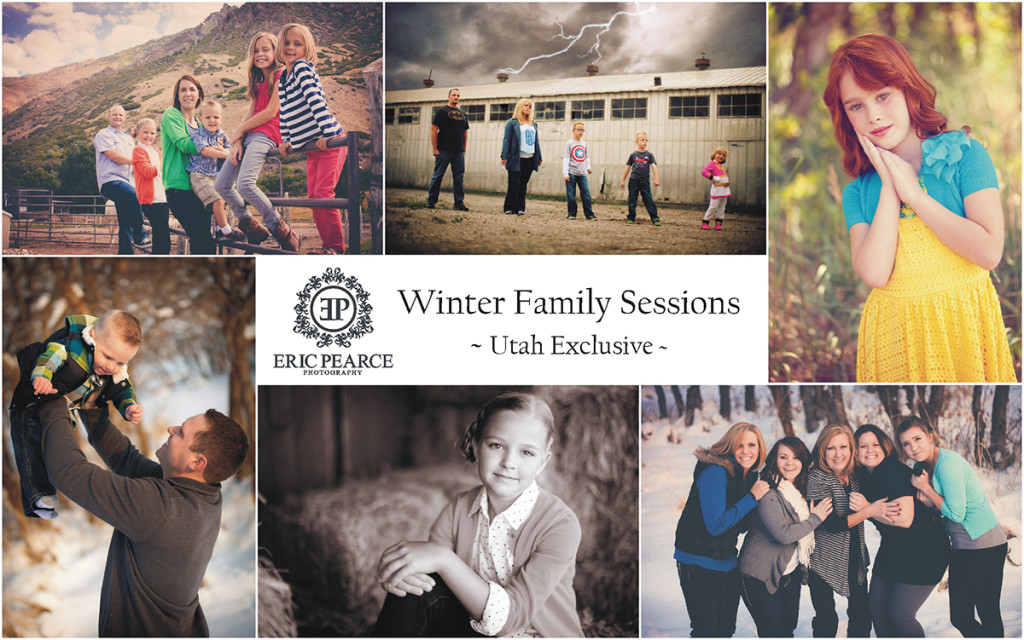 Family Photography Portrait Sessions - Utah Exclusive - Eric Pearce Photography