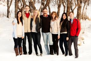 Utah Family Photographer - Winter